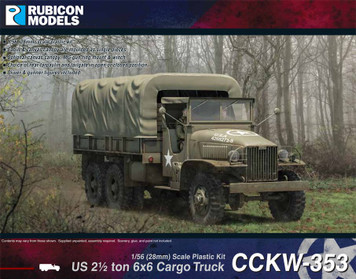 Rubicon Models US CCKW 353 2 1/2 ton 6x6 Truck (GMC)