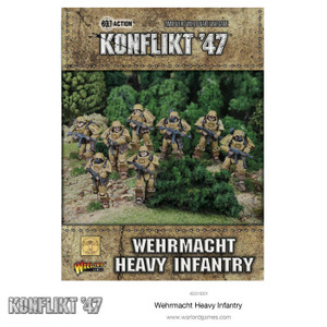 Konflikt '47 German Heavy Infantry