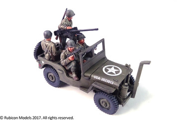 Willys MB 1/4 ton 4x4 Truck (US Standard)  (1:56th scale / 28mm)