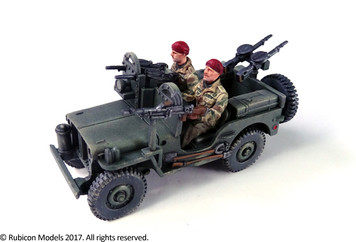 Willys MB 1/4 ton 4x4 Truck (Commonwealth)  (1:56th scale / 28mm)