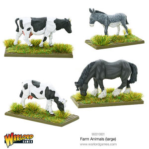 Warlord Games: Farm Animals (large)