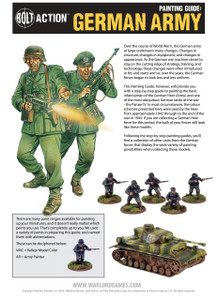 Bolt Action: Germans Painting Guide (Download)