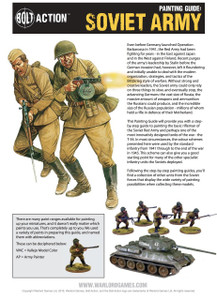 Bolt Action: Soviet Painting Guide (Download)