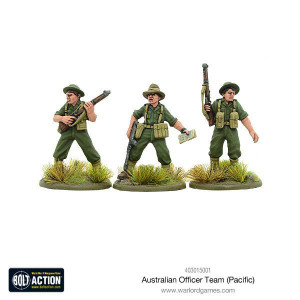 Bolt Action: Australian Officer Team