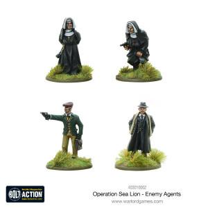 Bolt Action: Operation Sea Lion Enemy Agents