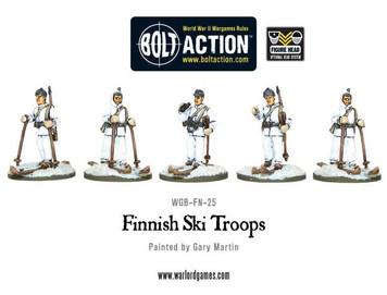 Bolt Action: Finnish Ski Troops