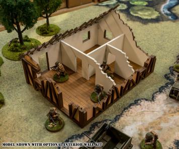 28mm Medium Half Timber House  - 28MMDF551