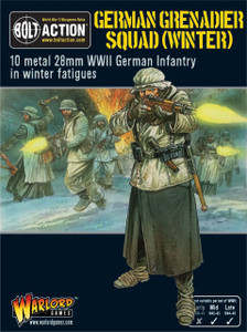 Bolt Action: German Grenadiers in Winter Clothing