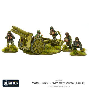 Bolt Action: Waffen SS SIG 33 15cm heavy howitzer