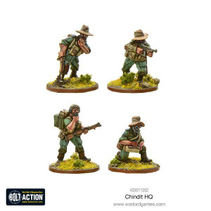 Bolt Action: Chindit HQ
