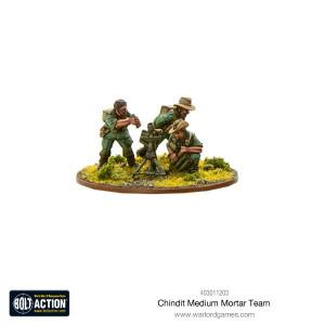 Bolt Action: Chindit Medium Mortar team