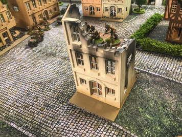 28mm European Building - 28MMDF515