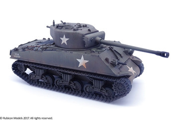 M4A2(76)W Sherman (1:56th scale / 28mm)