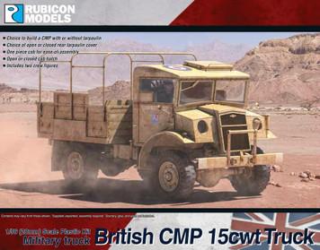 British CMP 15cwt Truck (1:56th scale / 28mm)