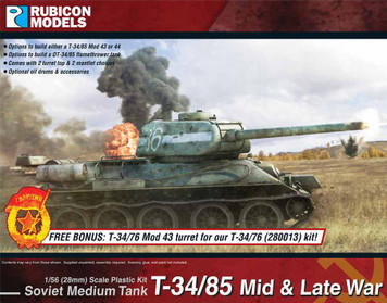 Rubicon Models T-34/85 – Mid & Late War