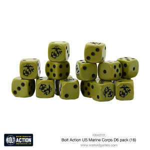 Bolt Action: US Marine Corps D6 Pack