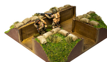 T Intersection Trench Section (28mm Scale)
