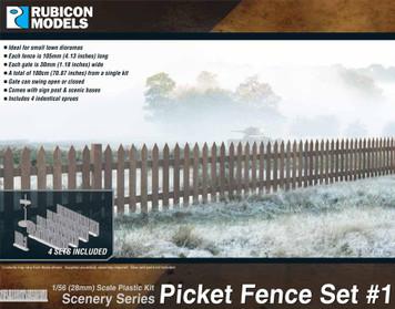 Picket Fence Set #1