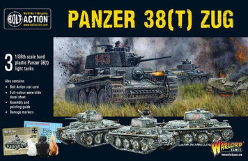 Bolt Action: Panzer 38(t) Zug