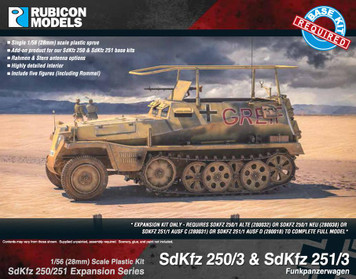 SdKfz 250/3 & 251/3 Expansion Set