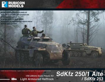 SdKfz 250/1 Alte / SdKfz 253 (aka 250A)Ê