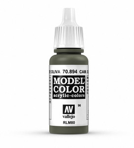 Vallejo Model Color: Camouflage Olive Green