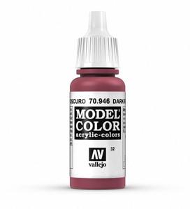 Vallejo Model Color: Dark Red