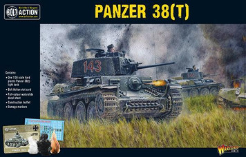 Bolt Action: Panzer 38(t)