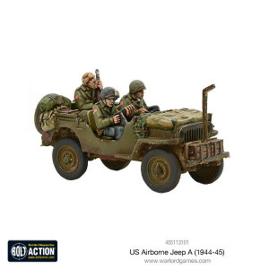 Bolt Action: US Airborne Jeep (1944-45)