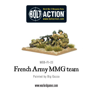 Bolt Action: French Army MMG team