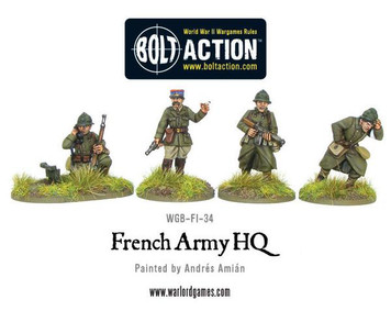 Bolt Action: French Army HQ