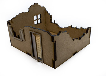 28mm House Ruins - 28MMDF558