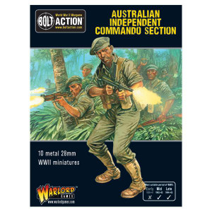 Bolt Action: Australian Independent Commando Squad