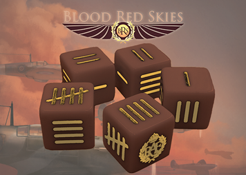 Blood Red Skies: British Blood Red Skies Dice