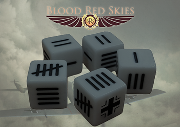 Blood Red Skies: German Blood Red Skies Dice