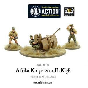 Bolt Action: Africa Korps 2cm Flak 38