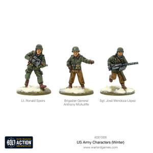 Bolt Action: US Army Characters (Winter)