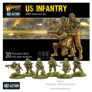 Bolt Action: US Infantry - WWII American GIs (New Sculpts)