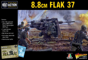 Bolt Action: German Army Flak 37 8.85cm (88mm)