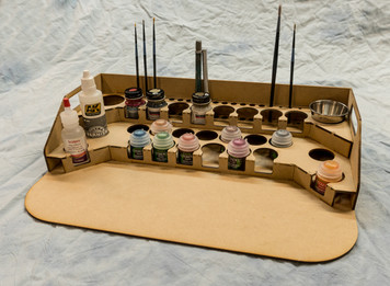 Painting Station - 34mm V2, For GW / Citadel Bottles
