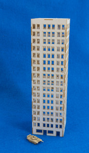 6mm Modern / Future City Building - 285CSS070