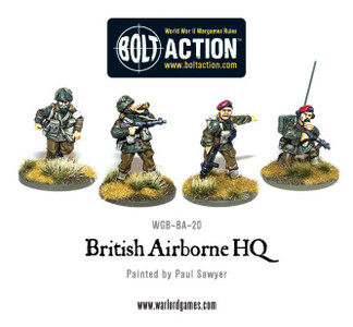 Bolt Action: British Airborne HQ