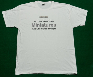 All I Care About T-Shirt - White