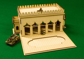 28mm Temple (MDF) - 28MMDF160-BA