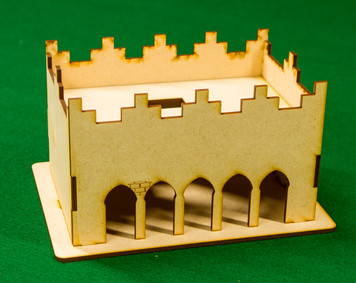 Middle East One Story Building - 28MMDF012-R