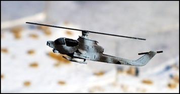 AH1Q Cobra gunship with TOW (2/pk)  - AC22