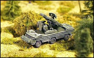 SA-8 Gecko Wheeled SPAA - W50