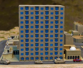 Mega Hotel (Acrylic) - 285ACR007-1