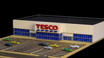1/285th Scale Tesco Store - 285MCB003