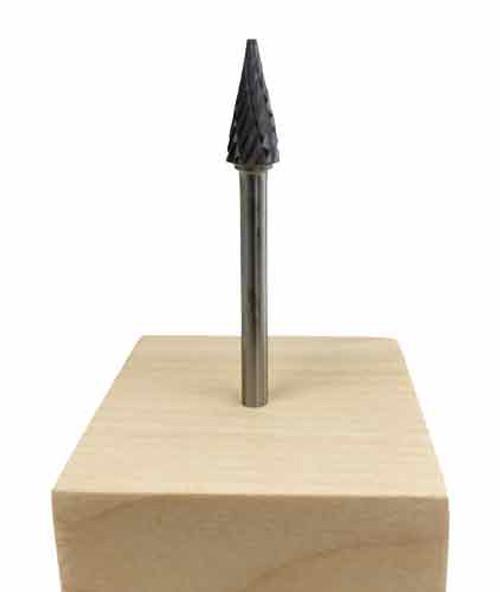 Pointed Taper Carbide Bur